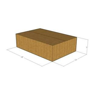 150 New Corrugated Boxes 18x12x5 32 Ect Lxwxh