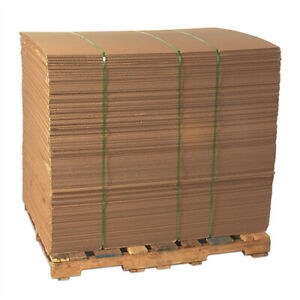 5 48x48 Corrugated Sheet Brown