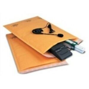 100 3 8 1 2x14 1 2 Self seal Bubble Mailer Recycled Golden Paper