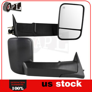 Power Heated Tow Mirrors For 1994 2001 Dodge Ram 1500 1994 2002 2500 3500