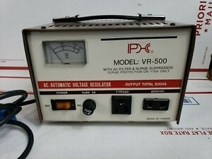 Model Vr 500 Ac Automatic Voltage Regulator 110 220v