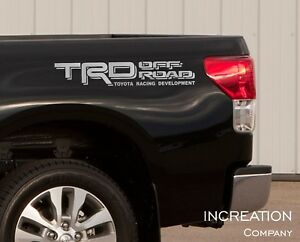 Truck Decals For Toyota Tacoma Tundra Trd Vinyl Stickers Off Road Graphics 4x4