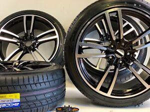 22 Wheels Rims Tires Fit Porsche Cayenne Macan Gts Turbo Style Gry 5x120 Machi