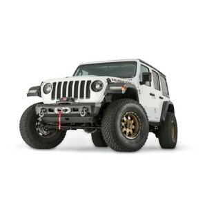 Warn 101325 Elite Stubby Bumper For Jeep Jl Jt New