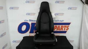07 Porsche Boxster Front Left Driver Seat Black Leather