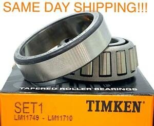 Timken Usa Lm11749 Lm11710 Tapered Roller Bearing Set cup Cone Lm11749 10