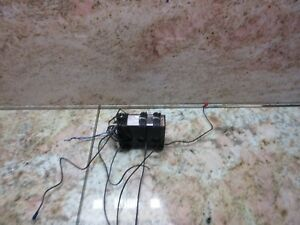 Omron Current Converter Set 3a 1986 Cnc With Wires