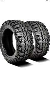 2 New Gladiator X Comp M T Lt 33x12 50r22 Load F 12 Ply Mt Mud Tires