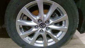 2014 2019 Mazda 6 17 Aluminum Alloy Wheel Rim Assembly no Tire Oem