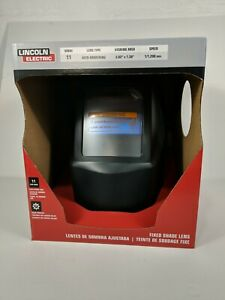 Lincoln Electric Auto darkening Welding Helmet With No 11 Fixed Shade Lens New