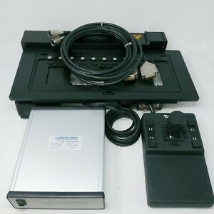 Marzhauser Microscope Motorized Stage Scan 9 With Asi Controller And Joystick