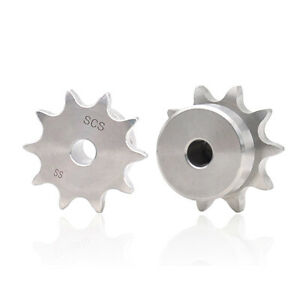 60 Stainless Steel Chain Drive Sprocket Pitch 3 4 19 05mm For 12a Roller Chain