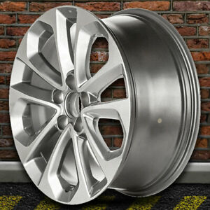 18 Machined And Gray Wheel For 2013 2015 Honda Accord By Revolve