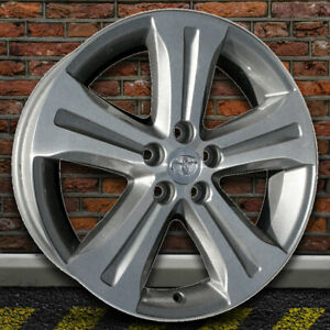 19 Machined silver Grooved Spk Wheel For 08 13 Toyota Highlander By Revolve