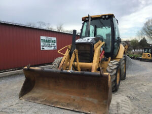 2009 Caterpillar 416e 4x4 Tractor Loader Backhoe W Cab Ext a hoe Only 3900hrs