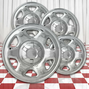 Chrome 16in Wheel Skin Overlays For 2007 2011 Ford Escape Hlnd 3681 Abs