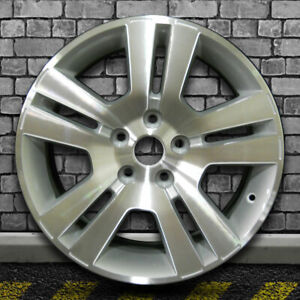 Sparkle Silver Machined Factory Wheel For 2007 2009 Ford Fusion 17x7