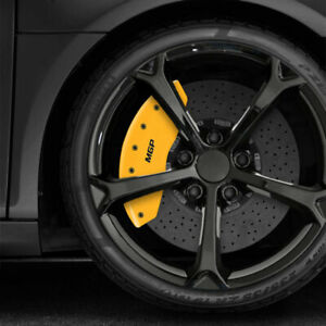 Yellow Mgp Caliper Covers For 2010 2014 Ford Mustang