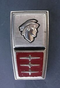 Original 1964 Mercury Comet Trunk Emblem Badge Ornament Trim C4gb 6242508 A