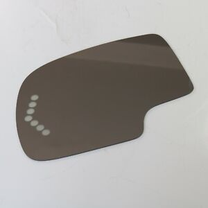 Mirror Glass With Adhesive Driver Side Power Turn Signal For Gmc Chevy Truck Suv