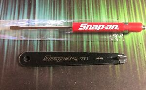 Snap On Ssf1 Low Profile Flat Tip 1 And Pocket Screwdriver With Magnet End