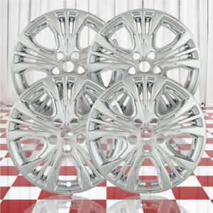 18 Chrome Wheel Skins For 2014 2016 Chevy Impala qty Four