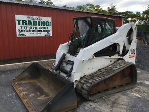 2005 Bobcat T300 Compact Track Skid Steer Loader W Cab Only 1600hrs One Owner