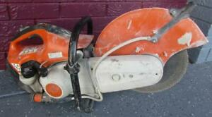 Stihl Ts 420 14 Gas Powered Concrete Cut off Saw Used tt