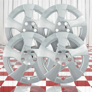 15 Push On Chrome Hubcaps For 2010 11 Toyota Corolla Le Qty Four