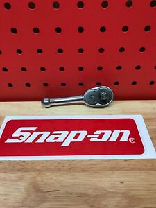 Snap On Fk720 3 8 Drive Stubby Ratchet Measuring 4 Long Free Shipping