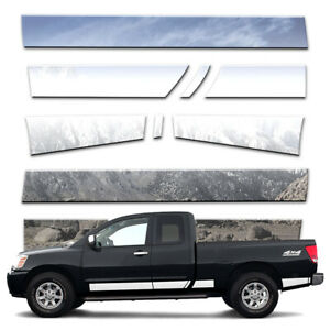 11p 5 1 2 Rocker Panels Fits 04 15 Titan King Cab W Tool Box W O Guards By Bd