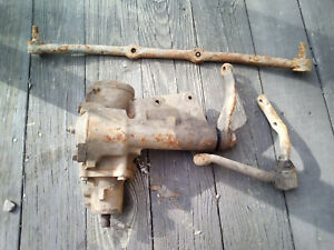 1960 65 Ford Thunderbird Steering Box Drag Link Idler Arm Vintage Parts