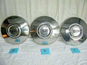 1973 1978 Ford Ltd Galaxie Oem Hub Caps Selling By The Each Dog Dish Police