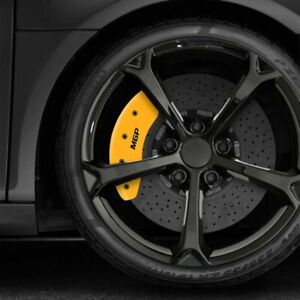 Yellow Mgp Caliper Covers For 2008 2015 Scion Xb Set Of 4