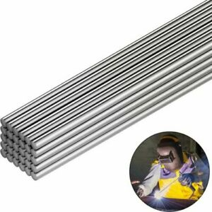 10 50pcs Aluminum Solution Welding Flux cored Rods Wire Brazing Rod 1 6 2 500mm