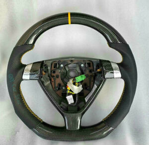 100 Real Carbon Fiber Car Steering Wheel For Posche 997 987 Cayman Boxster