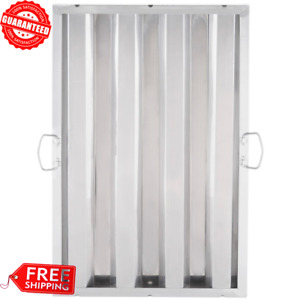 25 X 16 Stainless Steel Kitchen Hood Grease Exhaust Filter W Two Drop Handle