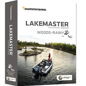 Humminbird Lakemaster Maps  Lake-Woods/Rainy Lake