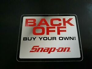 Snap On Tools Official Old School Logo Decal Sticker New Great Gift