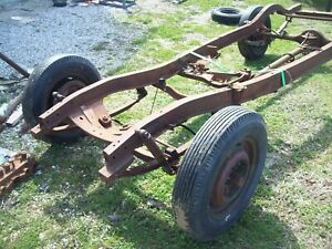 1937 1938 Chevy Car Chassie Frame Straight Axle Front End 38 Jalopy Rat Rod Hot