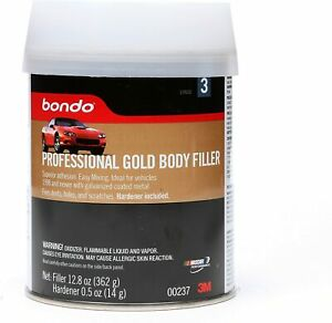 Bondo Professional Gold Filler 00237 12 80 Oz