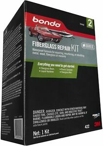 Bondo Fiberglass Resin Repair Kit 00422 0 9 Quart