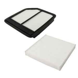 Combo Set Engine Cabin Air Filter For 2006 2011 Honda Civic 1 8l