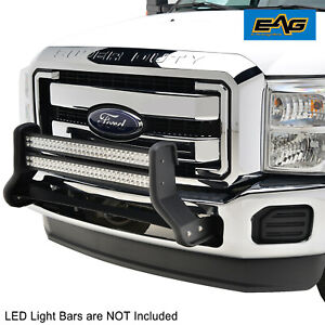 Tidal Fit 2011 2016 Ford F 250 F 350 Black Double 32 Led Bull Bar