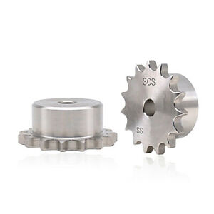 35 Stainless Steel Chain Drive Sprocket Pitch 3 8 9 525mm For 06b Roller Chain