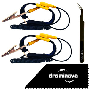Anti static Esd Wrist Strap Band Earthing Grounding Bracelet Pc Computer Tools