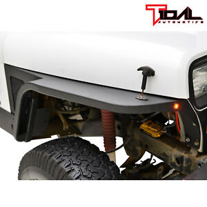 Tidal Front Fender With Flare And Led Eagle Lights Fit 87 95 Jeep Wrangler Yj