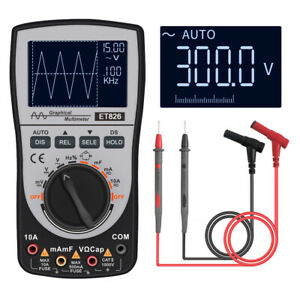 2 in 1 Digital Oscilloscope Multimeter Dc ac Current With Analog Bar Graph O2b4