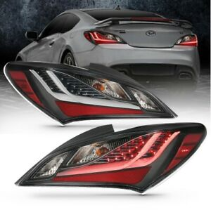 Anzo 321347 Tail Light Assembly Led For 10 13 Hyundai Genesis Coupe New