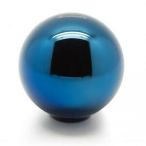 Blox Racing 490 Limited Series Spherical Shift Knob 10x1 25 Electric Blue